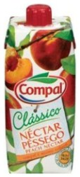 Compal Clássico nektar portugalski o smaku brzoskiwini 330 ml