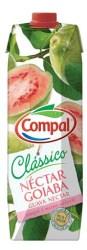 Compal Clássico nektar portugalski o smaku gujawy 1 litr
