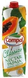 Compal Clássico nektar portugalski o smaku papai 1 litr