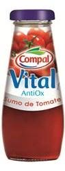 Compal Vital AntiOx: 100% soku z portugalskich pomidorów 200ml