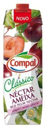 Compal Clássico nektar portugalski o smaku śliwki 1 litr