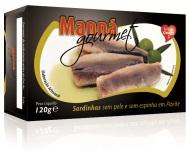 Sardynki portugalskie bez skóry i ości w oliwie 120g Manná